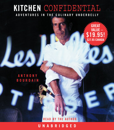 The cover of the book Kitchen Confidential