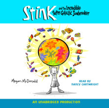 Stink and the Incredible Super-Galactic Jawbreaker Cover