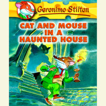 Geronimo Stilton Book 3: Cat and Mouse in a Haunted House Cover