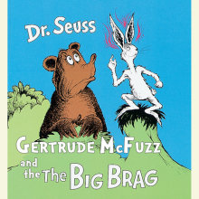 Gertrude McFuzz and The Big Brag Cover