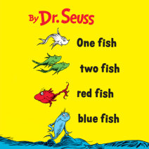 One Fish Two Fish Red Fish Blue Fish Cover