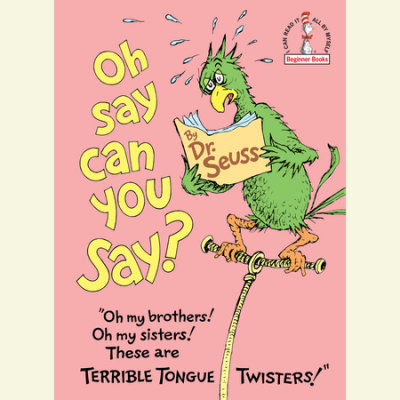 Oh, Say Can You Say? cover