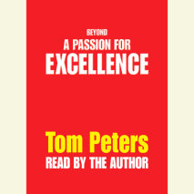 Beyond a Passion for Excellence Cover