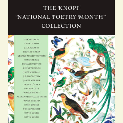 The Knopf National Poetry Month(TM) Collection cover