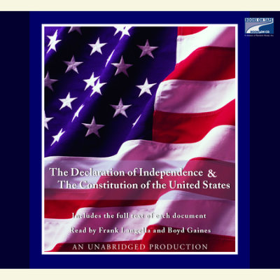 The Declaration of Independence and the Constitution of the United States cover