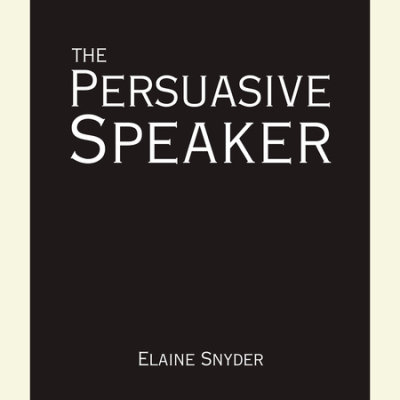 The Persuasive Speaker cover