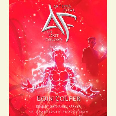 Artemis Fowl 5: The Lost Colony cover