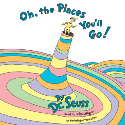 Oh, The Places You'll Go! cover