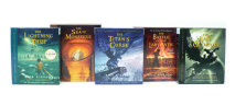 Percy Jackson and the Olympians books 1-5 CD Collection Cover