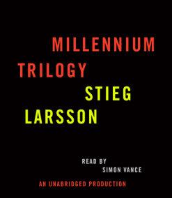 Stieg Larsson Millennium Trilogy Audiobook CD Bundle