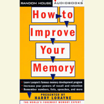 How to Improve Your Memory Cover