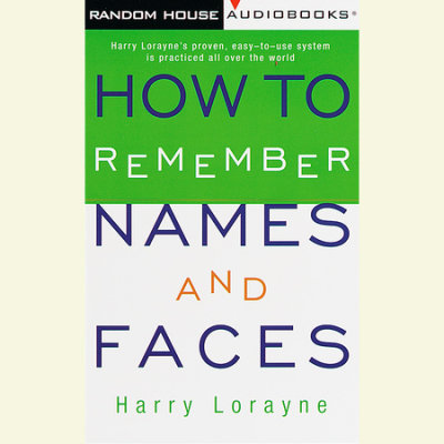 How to Remember Names and Faces cover