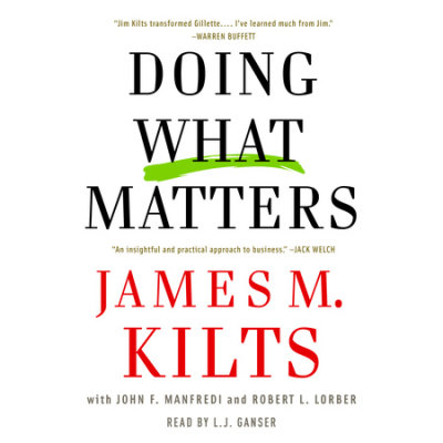 Doing What Matters cover