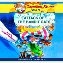 Geronimo Stilton #8: Attack of the Bandit Cats Cover