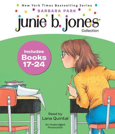 Junie B. Jones Collection Books 17-24 cover