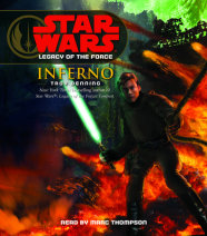 Star Wars: Legacy of the Force: Inferno Cover