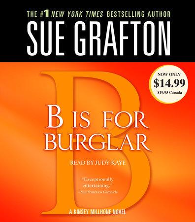 B Is for Burglar by Sue Grafton