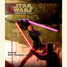 Star Wars: Legacy of the Force: Invincible Cover