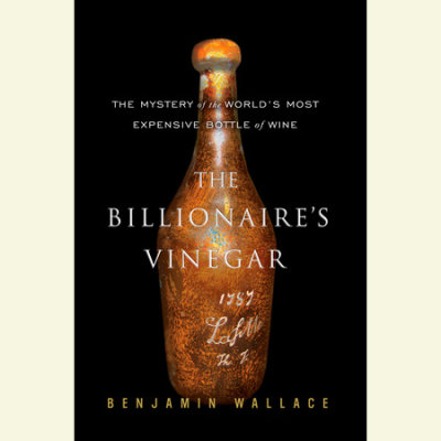 The Billionaire's Vinegar cover
