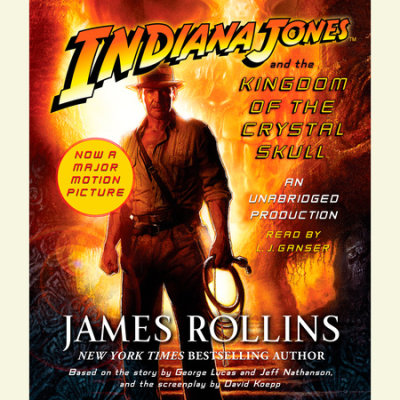 Indiana Jones and the Kingdom of the Crystal Skull (TM) cover