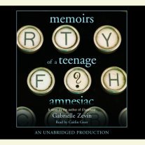 Memoirs of a Teenage Amnesiac Cover