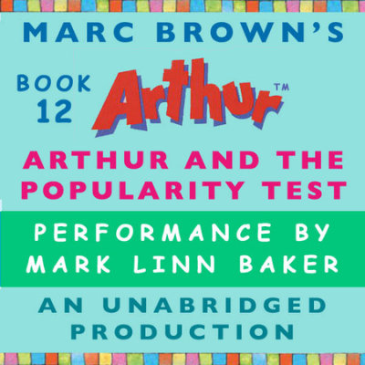Arthur and the Popularity Test cover
