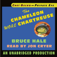 Chet Gecko, Private Eye, Book 1: The Chameleon Wore Chartreuse Cover