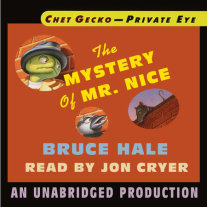 Chet Gecko, Private Eye, Book 2: The Mystery of Mr. Nice Cover