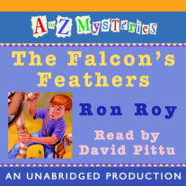 A to Z Mysteries: The Falcon's Feathers Cover
