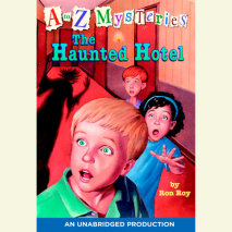 A to Z Mysteries: The Haunted Hotel Cover