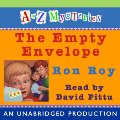 A to Z Mysteries: The Empty Envelope cover