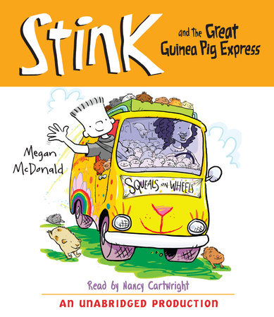Stink and the Great Guinea Pig Express (Book #4) cover