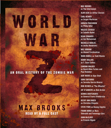The cover of the book World War Z
