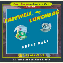 Chet Gecko, Private Eye: Book 4 - Farewell, My Lunchbag Cover