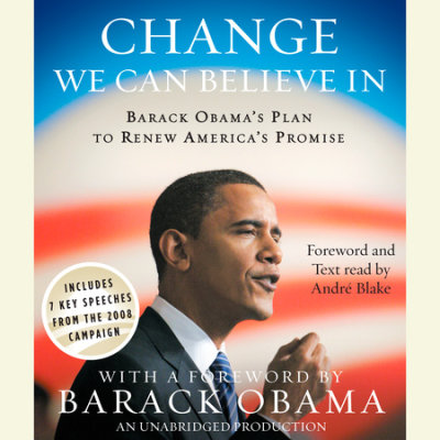 Change We Can Believe In cover