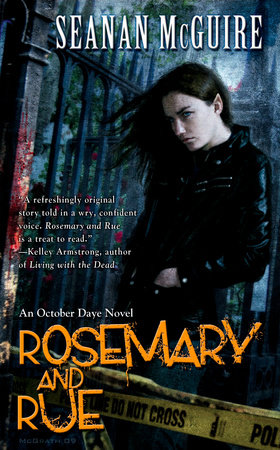 The cover of the book Rosemary and Rue