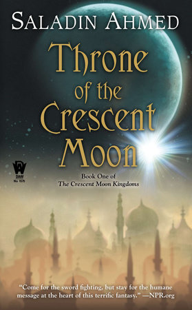 The cover of the book Throne of the Crescent Moon
