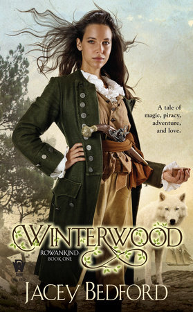 The cover of the book Winterwood