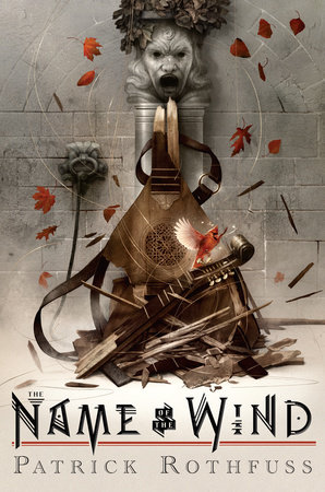 The cover of the book The Name of the Wind: 10th Anniversary Deluxe Edition