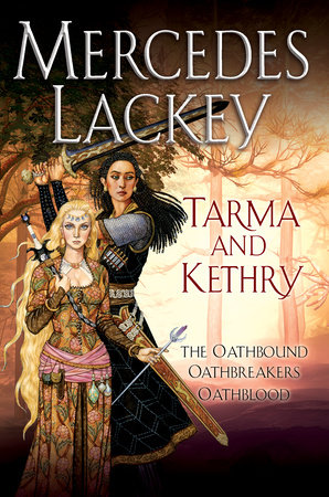 Tarma and Kethry by Mercedes Lackey