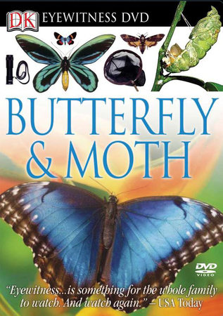 Eyewitness DVD: Butterfly and Moth by DK