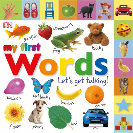 Tabbed Board Books: My First Words by DK Publishing