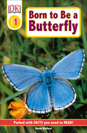DK Readers L1: Born to Be a Butterfly by Karen Wallace