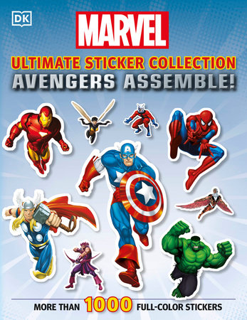 Ultimate Sticker Collection: Marvel Avengers: Avengers Assemble! by DK Publishing