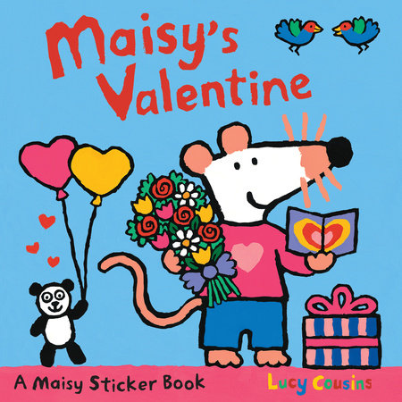 Maisy's Valentine Sticker Book by Lucy Cousins