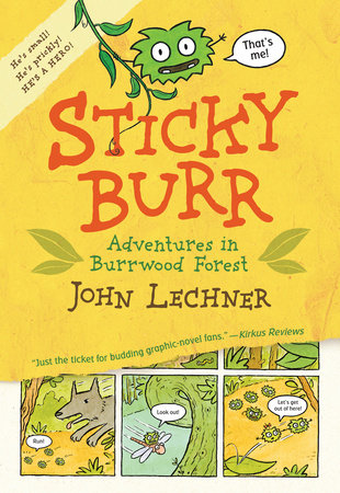 Sticky Burr by John Lechner