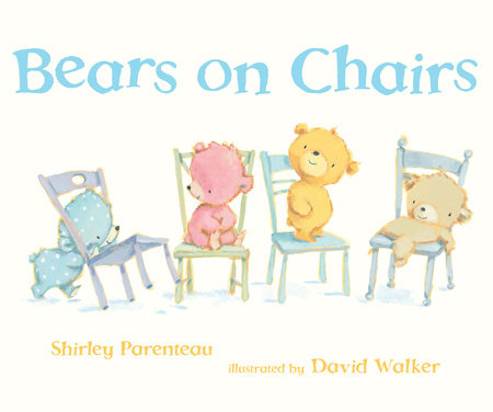 Bears on Chairs by Shirley Parenteau