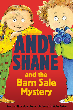 Andy Shane and the Barn Sale Mystery by Jennifer Richard Jacobson