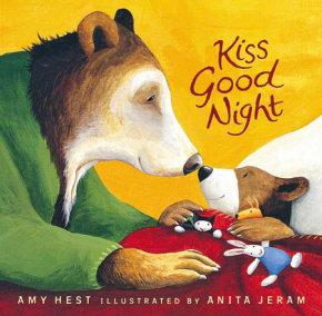 Kiss Good Night Lap-Size Board Book