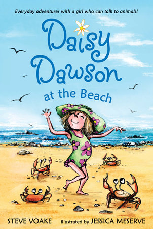 Daisy Dawson at the Beach by Steve Voake